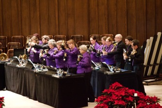 CBHE members performing at a holiday concert in December 2015.